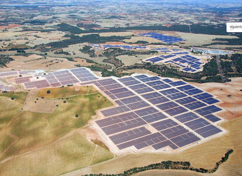 Parcul fotovoltaic Olmedilla de Alarcon, Spania
