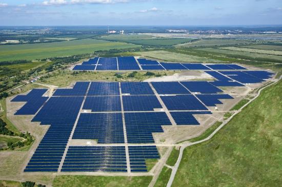 Senftenberg Solarpark, Germania
