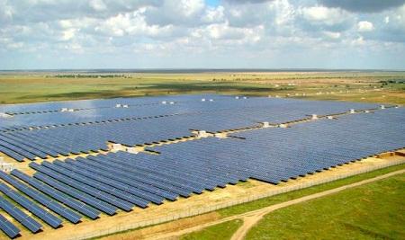 Parcul solar Okhotnykovo, Ucraina