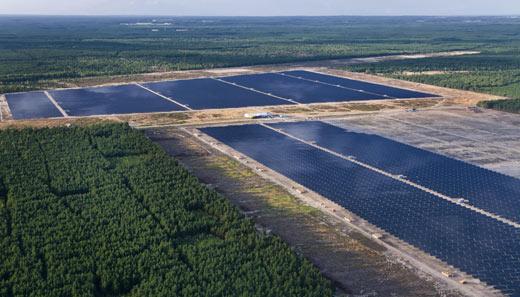 Lieberose Solarpark, Germania