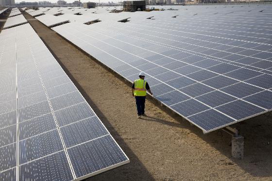 Parc fotovoltaic Masdar