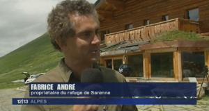 Refugiul Col-de-Sarenne si Fabrice Andre