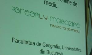 Lansarea proiectului Greenly Magazine
