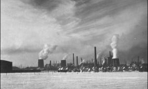 Creditul Minier oil refinery in Ploiesti-1940