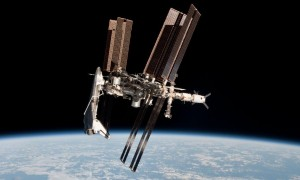 endeavour_iss_connected