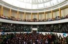 Festivitate absolvire 2012 - Facultatea de Geografie - Aula Magna Universitate