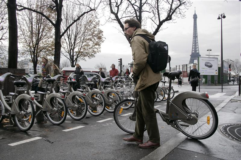 Biciclete publice in Paris
