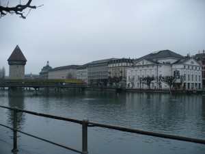 Turnul cu apa Pod lemn Lucerne