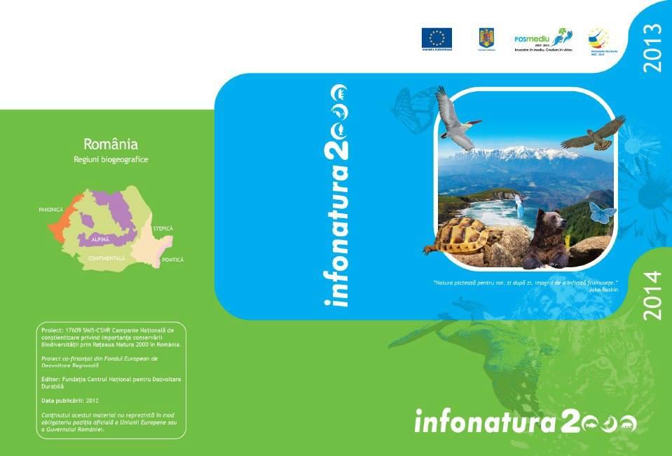 •Agenda Natura 2000 în România 2013-2014