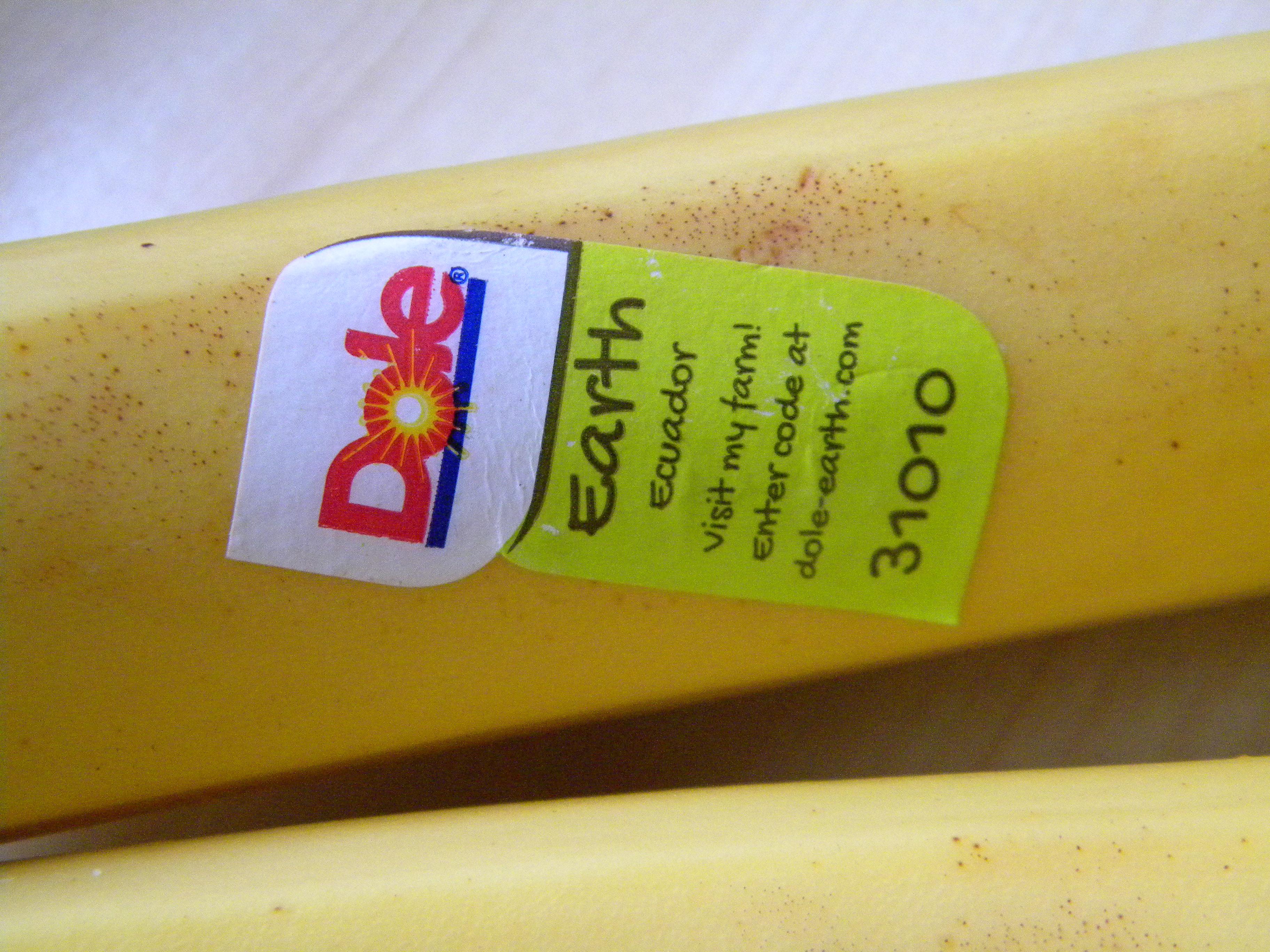 De unde vin bananele?