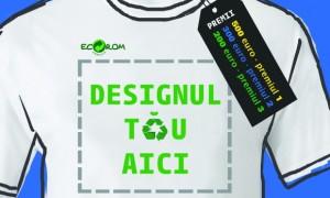 Concurs Design de tricou pe tema colectarii separate si a reciclarii deseurilor de ambalaje