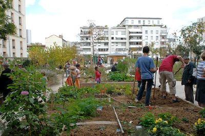 Fête des jardins à Paris