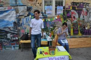 Teo si Mirela, pe baricadele Greenly :)!