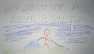 Audubon water festival water saving tip