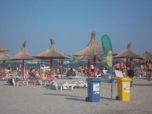 Colectare separata pe litoralul romanesc