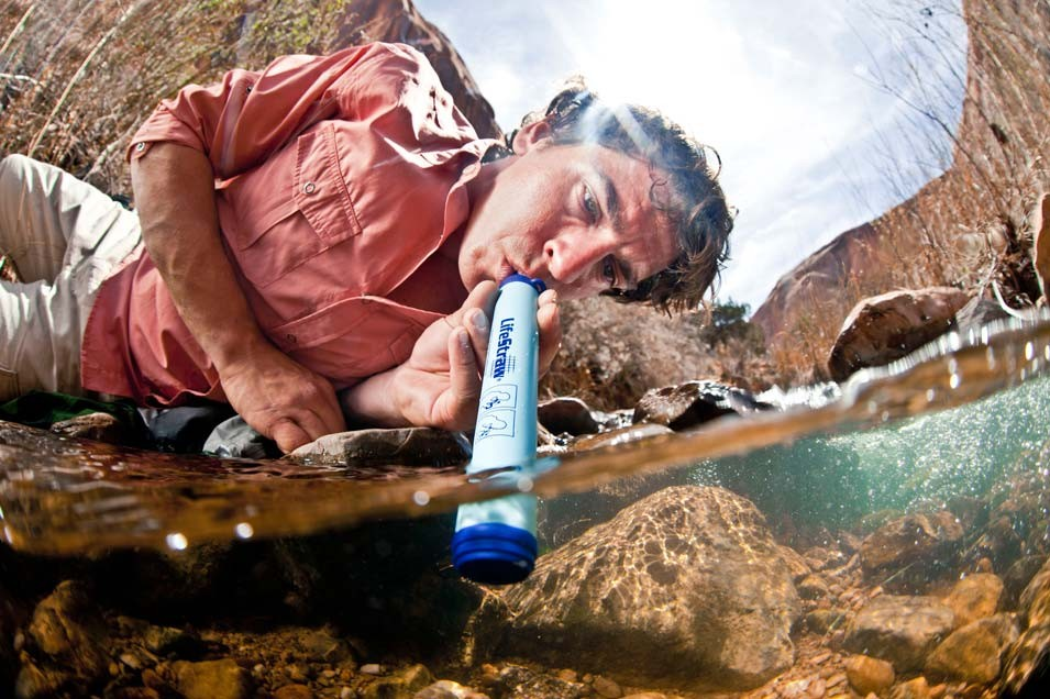 Cum folosesti LifeStraw