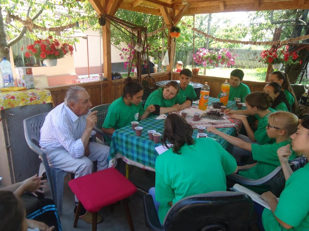 Întâlnire cu un bunic al Mostistei, Domnul Învățător Verdes - Valea Argovei