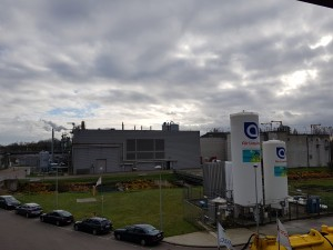 Stația de epurare Aquiris din zona Bruxelles-nord