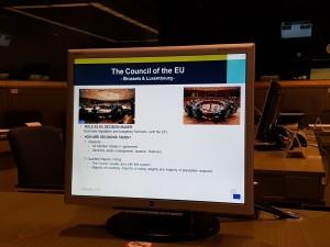 Discuție la Consiliul Uniunii Europene
