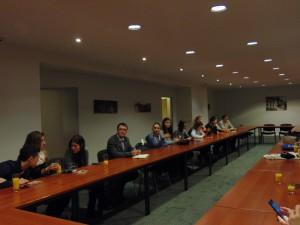 Discuție la Reprezentanța României
