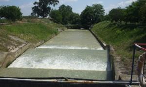 Figura 1. Derivaţia râului Ciorogârla la Staţia de tratare a apei de la Arcuda