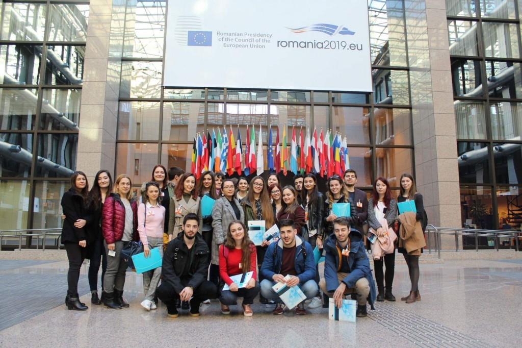 În vizită la Consiliul European; Foto: Tătaru Teodora